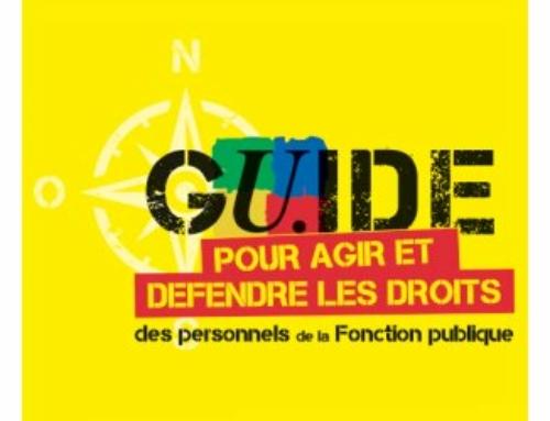 GUIDE POUR AGIR ET DÉFENDRE LES DROITS : STATUT DES FONCTIONNAIRES