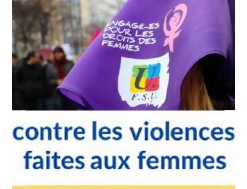 LES VIOLENCES FAITES AUX FEMMES C'EST QUOI ?